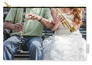 The Bride Plays The Trumpet- Destination Wedding New Orleans Carry-all Pouch