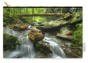 The Bridge At Alum Cave Carry-all Pouch by Debra and Dave Vanderlaan