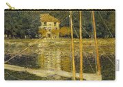 The Bridge At Argenteuil Carry-all Pouch