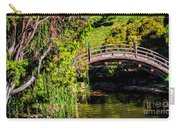 The Bridge In The Japanese Garden Carry-all Pouch