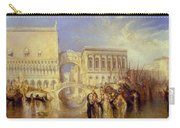 The Bridge Of Sighs Carry-all Pouch