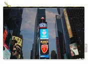 The Bright Lights Of Times Square Carry-all Pouch