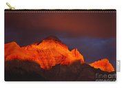 The Brilliance Of Light Mount Rundle Banff Carry-all Pouch