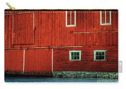 The Broad Side Of A Barn Carry-all Pouch by Lois Bryan
