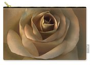 The Bronze Rose Flower Carry-all Pouch