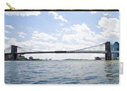 The Brooklyn Bridge And East River Carry-all Pouch