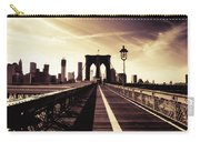 The Brooklyn Bridge - New York City Carry-all Pouch