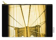 The Brooklyn Bridge New York Carry-all Pouch