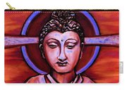 The Buddha In Red And Gold Carry-all Pouch