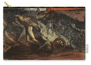 The Burden Of Taxation, Illustration Carry-all Pouch by Eugene Cadel