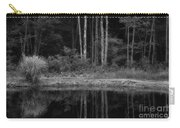 The Bush By The Lake Bw Carry-all Pouch