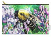 The Busy Bee And The Lilac Tree Carry-all Pouch