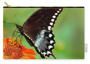 The Butterfly And The Zinnia Carry-all Pouch