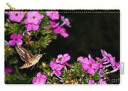 The Butterfly Garden At Night Carry-all Pouch