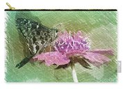 The Butterfly Visitor Carry-all Pouch