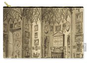 The Cabinet, Engraved By T. Morris Carry-all Pouch