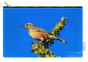 The Cactus Wren Carry-all Pouch