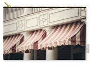 The Cafe Awnings At Chautauqua Institution New York  Carry-all Pouch