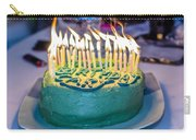 The Cake Is On Fire Carry-all Pouch