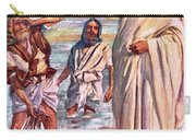The Call Of Andrew And Peter Carry-all Pouch by Harold Copping