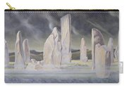 The Callanish Legend Isle Of Lewis Carry-all Pouch by Evangeline Dickson