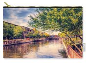 The Canal In Downtown Scottsdale Carry-all Pouch