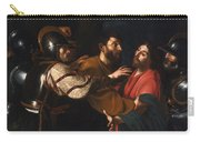 The Capture Of Christ Carry-all Pouch
