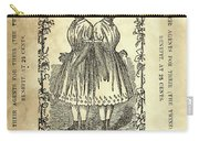 The Carolina Twins, C1869 Carry-all Pouch