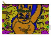 The Cat And His Fish Popart Carry-all Pouch