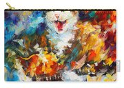 The Cat And The Guitar Carry-all Pouch