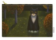 The Cat And The Moon Carry-all Pouch