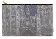 The Cathedral In Rouen Carry-all Pouch
