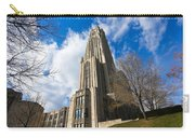 The Cathedral Of Learning 2g Carry-all Pouch