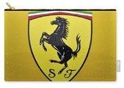 The Cavallino Rampante Symbol Of Ferrari Carry-all Pouch