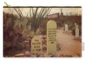 The Cemetery At Boothill Carry-all Pouch