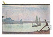The Channel At Gravelines In The Evening Carry-all Pouch