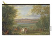 The Chateau Of Saint Germain Oil On Canvas Carry-all Pouch
