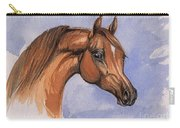 The Chestnut Arabian Horse 1 Carry-all Pouch