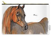 The Chestnut Arabian Horse 2a Carry-all Pouch
