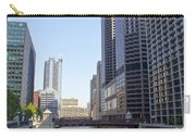 The Chicago River Carry-all Pouch