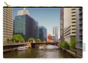 The Chicago River South Branch Carry-all Pouch