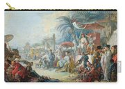 The Chinese Fair, C.1742 Oil On Canvas Carry-all Pouch