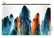 The Chosen Ones - Emotive Abstract Painting Carry-all Pouch