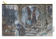 The Christening Gate In Lausanne, C.1861 Carry-all Pouch by Matthijs Maris