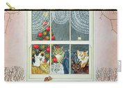 The Christmas Mouse Carry-all Pouch by Ditz
