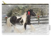 The Christmas Pony Carry-all Pouch by Fran J Scott