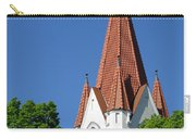 The Chuch Tower- Silute- Lithuania Carry-all Pouch