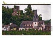 The Church And Heimburg In Niederheimsbach Am Rhein Carry-all Pouch