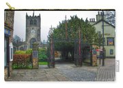 The Church Gate At Kirklands In Kendal Carry-all Pouch