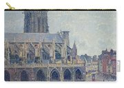 The Church Of St Jacques In Dieppe Carry-all Pouch by Camille Pissarro